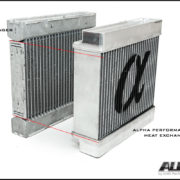 Alpha Performance Mercedes-Benz 45 Series AMG Heat Exchanger Upg